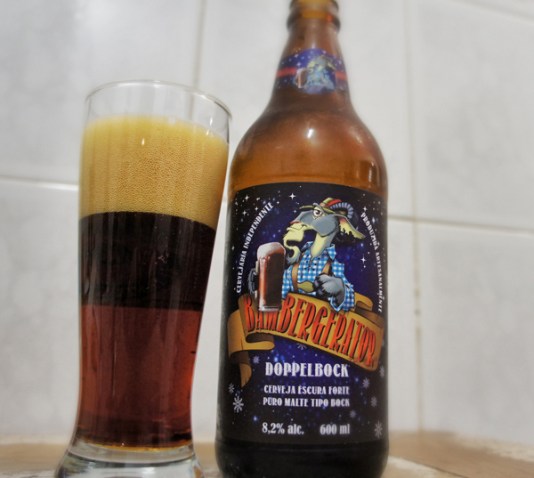 Bamberg Doppelbock Bambergerator: 8 % de álcool