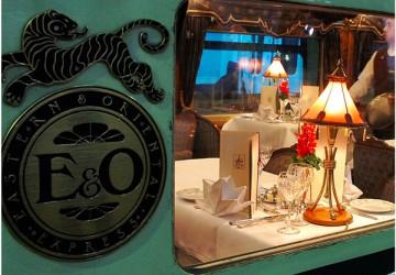 Vagão-restaurante do Orient Express: viagem de sonho