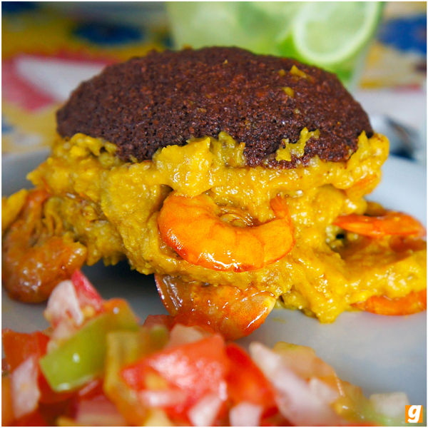 O acarajé lindão do Acarajé da Inês