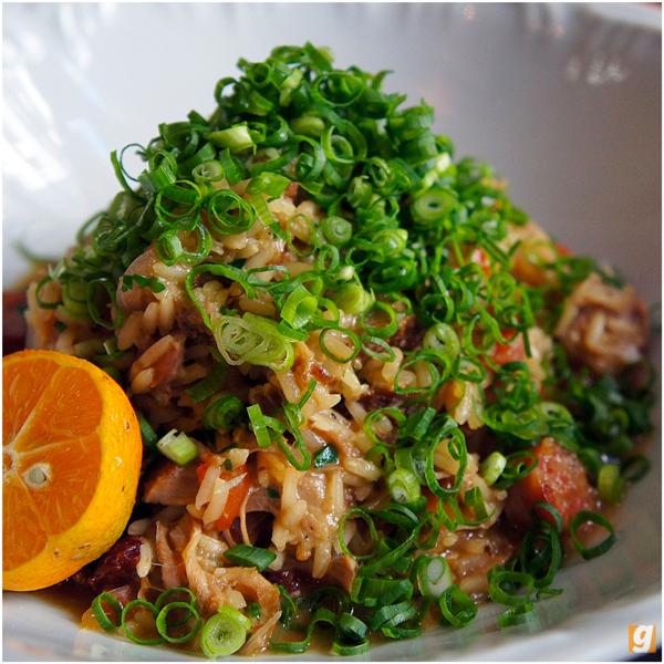 Delicioso arroz de suã do Jiquitaia