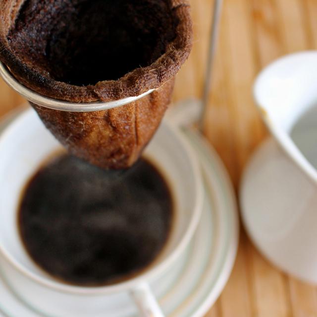 Café coado: como na casa da avó
