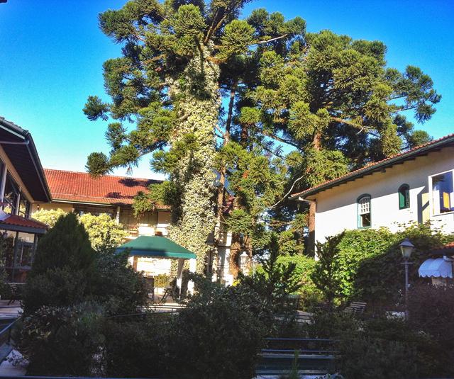 Área do spa Kurotel, em Gramado