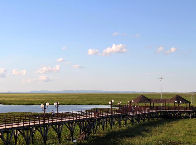 Pantanal visto da cidade fronteiriça de Puerto Suarez, na Bolívia