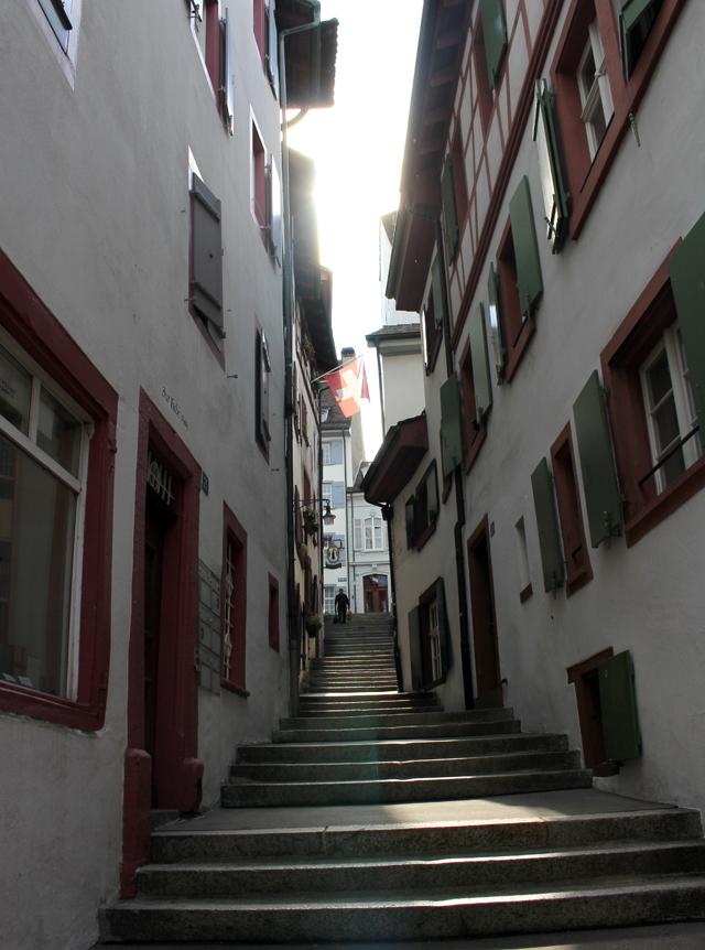 Pelas ruas de Basel