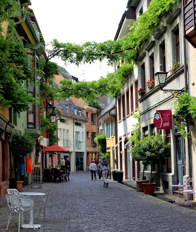 Pelas ruas de Friburgo
