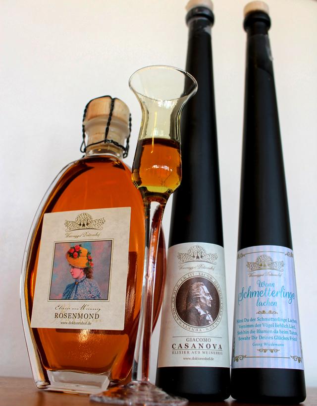 Licores? Brandys? Não, os mais sensacionais vinagres do universo, produzidos por Weinessiggut Doktorenhof