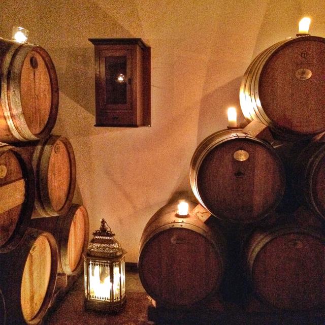 A cave de vinagres do Weinessiggut Doktorenhof