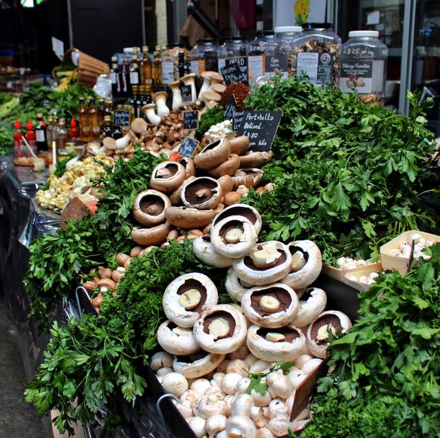 A terra dos cogumelos maravilhosos em Borough Market