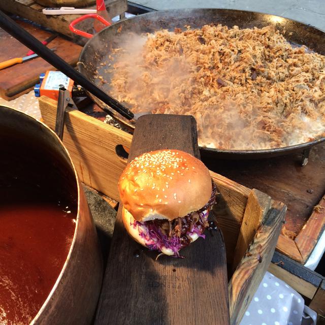 Pulled Pork em Covent Garden: outro mercado para se fartar de comer bem