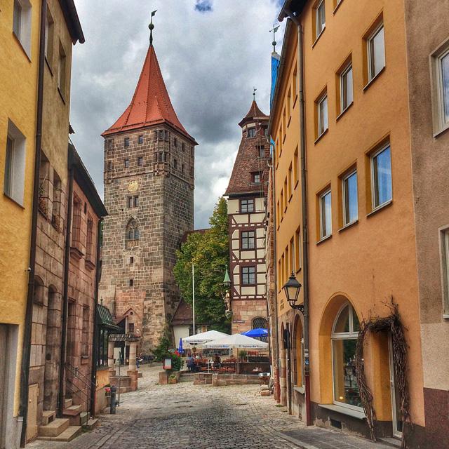 A bela Nuremberg