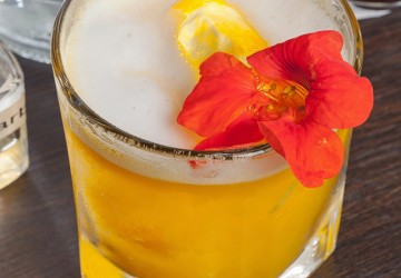 Nouvelle Mixologie, drinque do bartender Marcos Félix, um dos semifinalistas do World Class Brasil