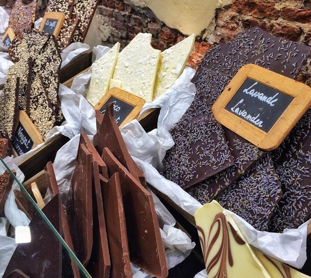Le Comptoir de Mathilde: marca francesa de excelentes chocolates, pastas, azeites...