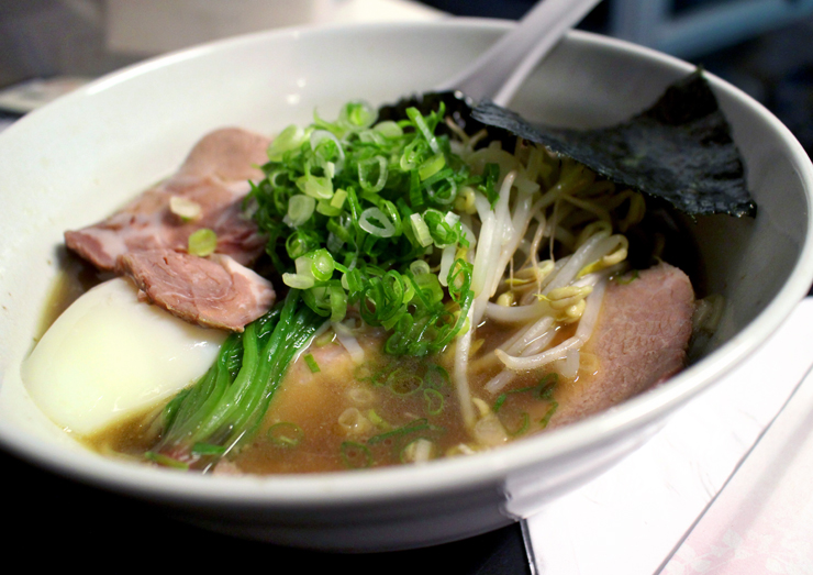 2nd Floor Noodle: pancetta, copa lombo e onsen tamago (R$ 32)