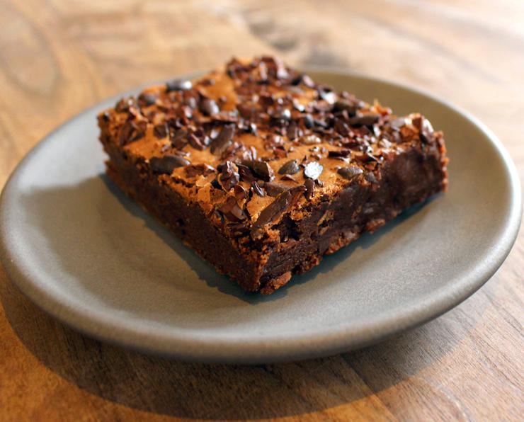 Um dos mais incríveis brownies que já comi na existência. Da chocolateria Dandelion