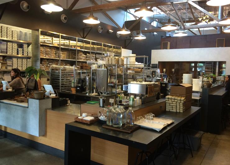 Ambiente da Chocolateria e Doceria Dandelion