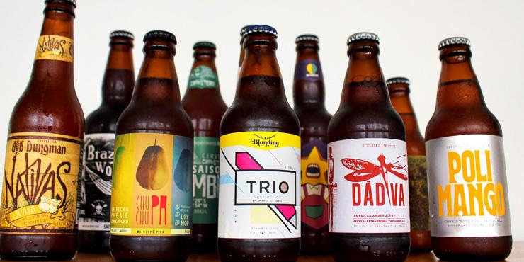 Onze rótulos brasileiros - de pequenas cervejarias - para celebrar os sabores nacionais