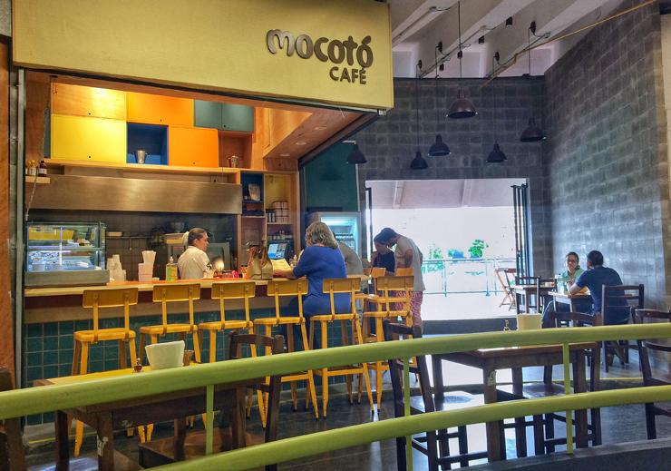 O novo Mocotó Café, dentro do Mercado de Pinheiros
