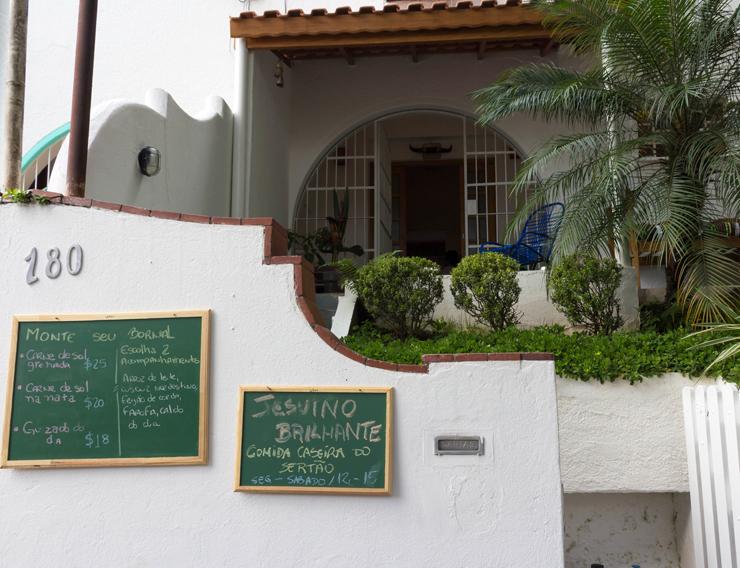 Entrada do Jesuíno Brilhante, em Pinheiros