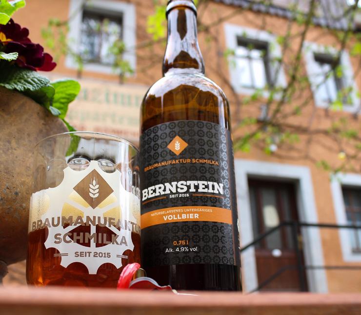 Um dos três tipos de cervejas orgânicas - e incríveis! - produzidas na cervejaria do Hotel Helvetia