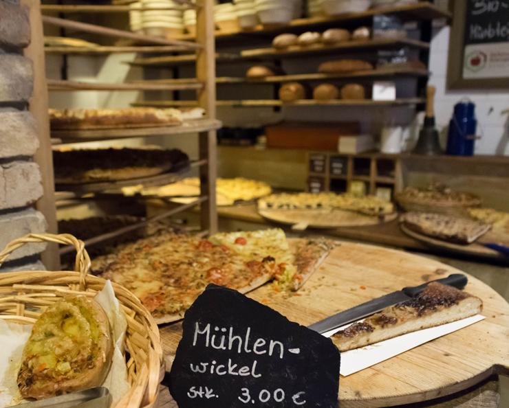 Especialidades alemãs da padaria orgânica do hotel Helvetia: deliciosas!