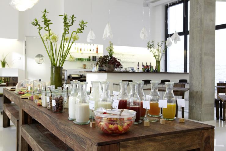 Café da manhã orgânico do Almodóvar, o primeiro hotel BIO de Berlim