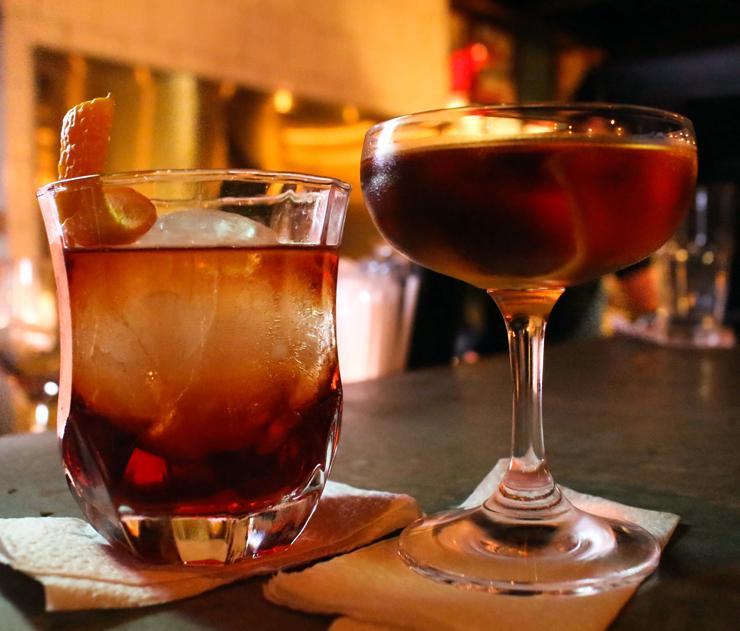 Martinez e Kingston do novo Negroni Bar, em São Paulo