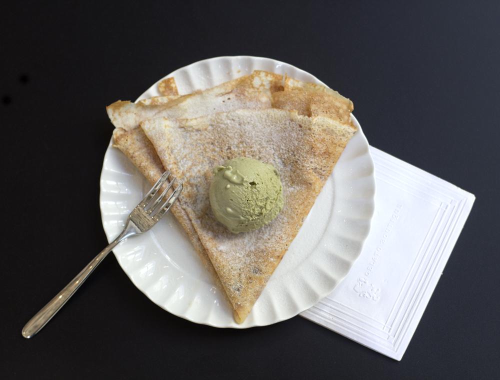 O crepe de castanha-do-pará é uma das sobremesas especiais que também entram no cardápio especial de sabores paraenses