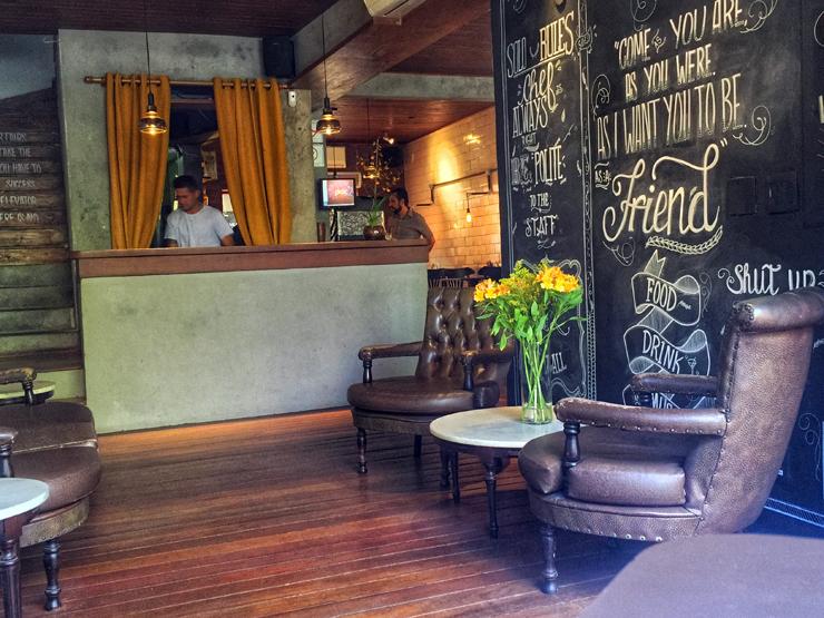 Ambiente do novo Solo Cozinha & Bar