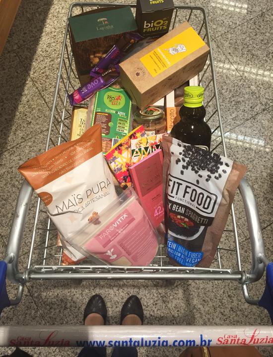 Meu carrinho de compras no Santa Luzia: porque orgânicos não precisam ser só frutas e verduras!