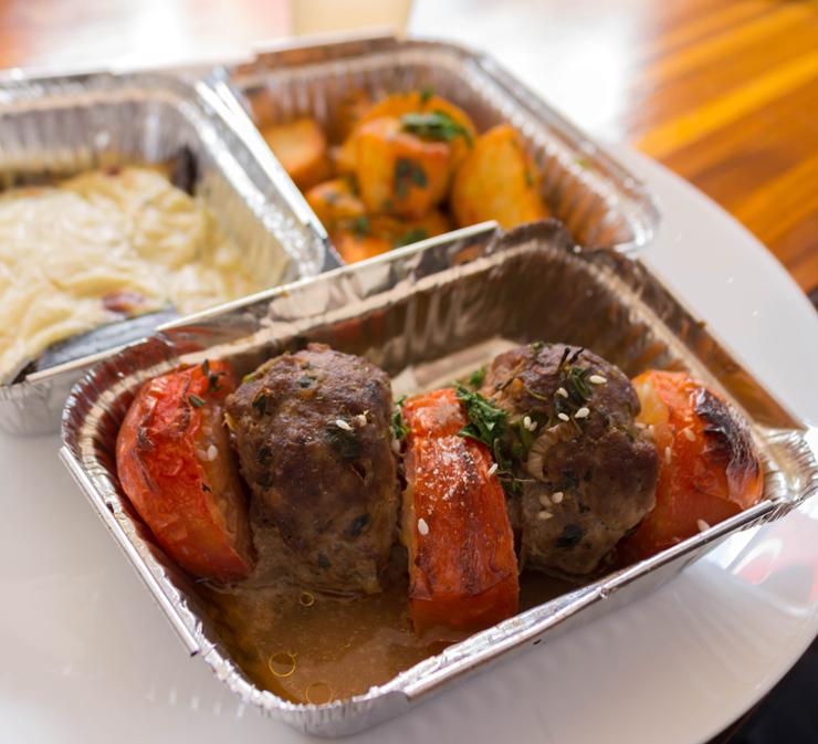 Menu executivo do Firin: excelente tempero e porções que compõe belo almoço por R$ 25,90