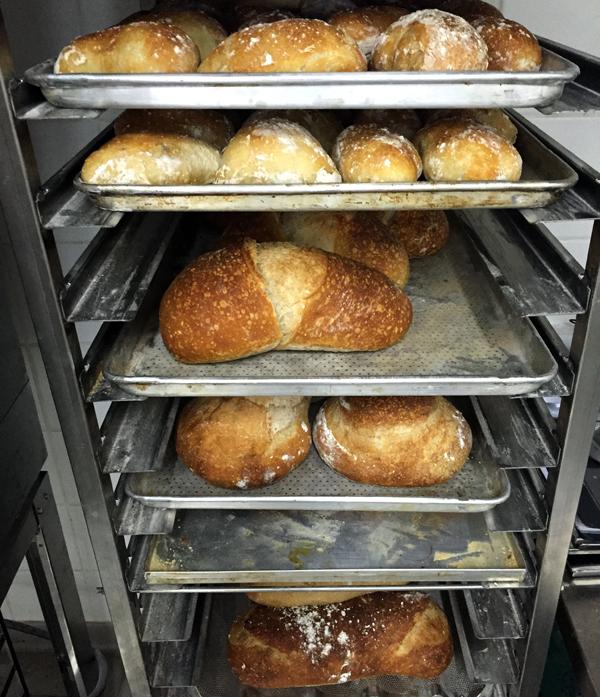 Algumas variedades dos pães produzidos na Padaria da Esquina