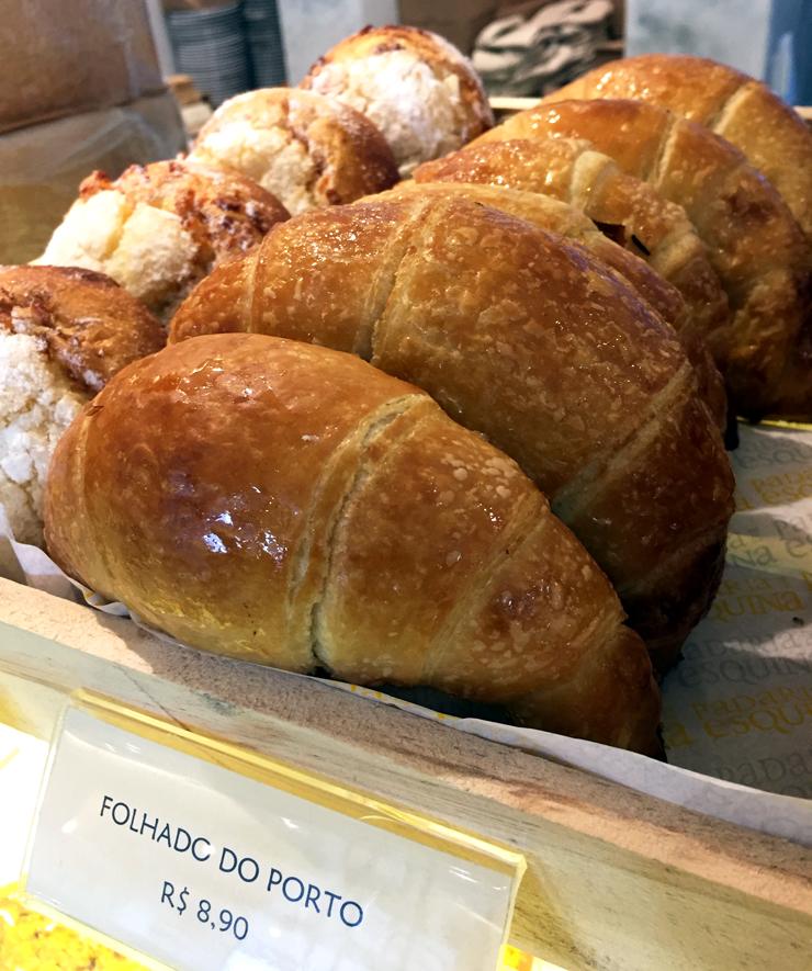 Folhado do Porto: o croissant português na nova Padaria da Esquina