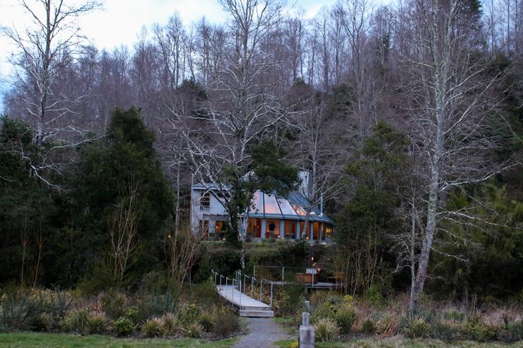 Casa no qual são realizadas aulas de gastronomia - na alta temporada é usada como moradia dos proprietários
