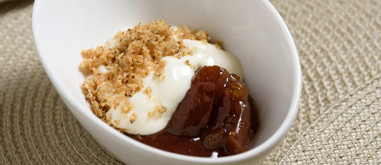 Sobremesa da chef Bel Coelho para o Festival Arca do Gosto: