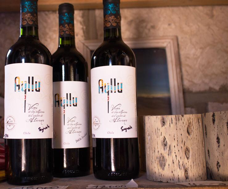 VInhos produzidos no vinhedo mais alto do mundo, a 3000 metros de altitude, no Salar do Atacama. Pena que são ruins...