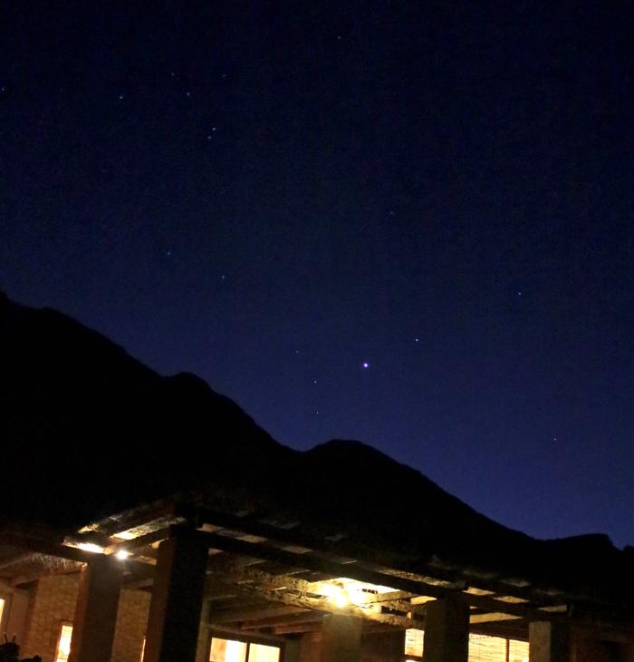 Cai a noite mais estrelada do mundo. No Hotel Alto Atacama