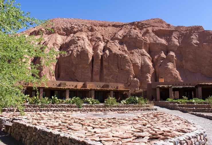 Vista do Hotel Alto Atacama: misturado à paisagem de San Pedro de Atacama