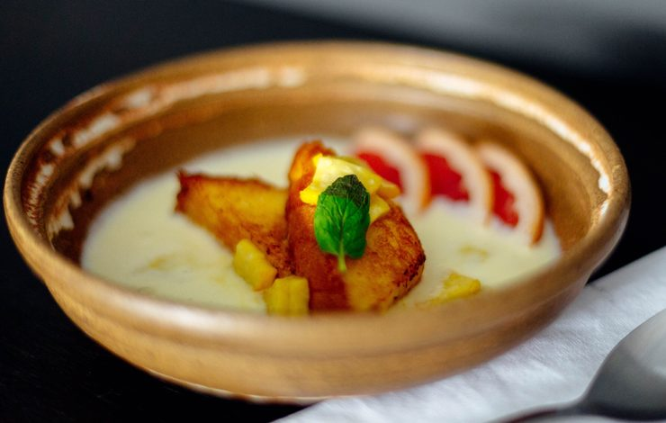 Prato do Restaurante Icone Gastrorock, localizado no bairro da vila madalena. Foto: THAYS BITTAR
