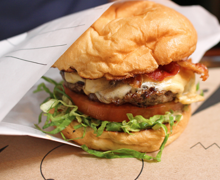Burger do Sandoui: ótimo custo-benefício